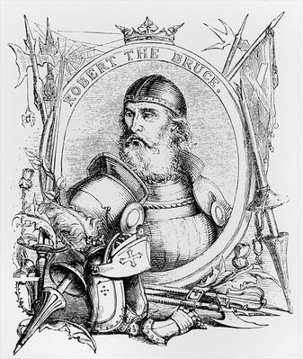 Portrait of Robert the Bruce