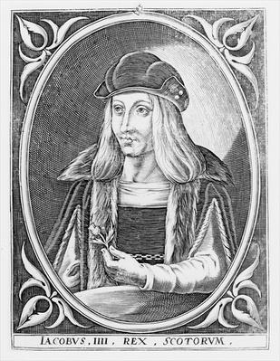 Portrait of James IV of Scotland