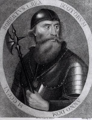Portrait of King Robert I of Scotland