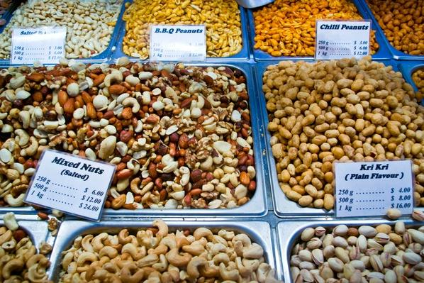 A Variety of Nuts For Sale | Earth's Resources