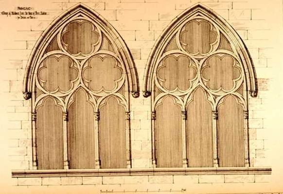 Group of Windows from the House of Pierre Raleine, Figeac, France