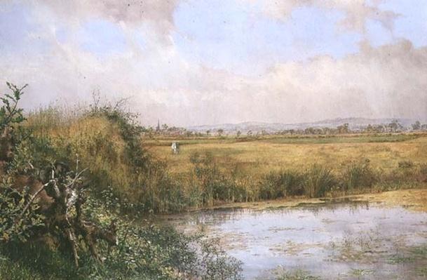 A View near Sefton, Lancashire, 19th century