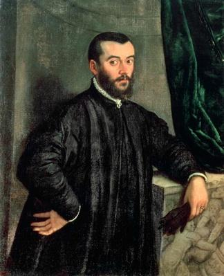 Portrait of Andrea Vesalius
