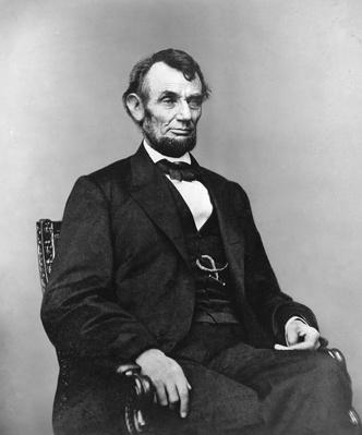Abraham Lincoln, Three-Quarter Length Portrait, Seated | American Presidential Portraits