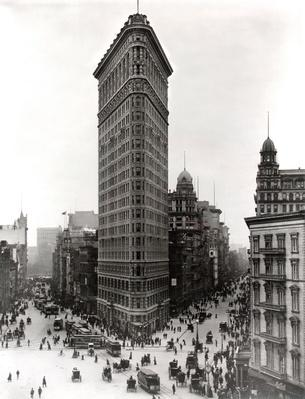 New York City Flatiron Building, C. 1910 | Famous American Architecture