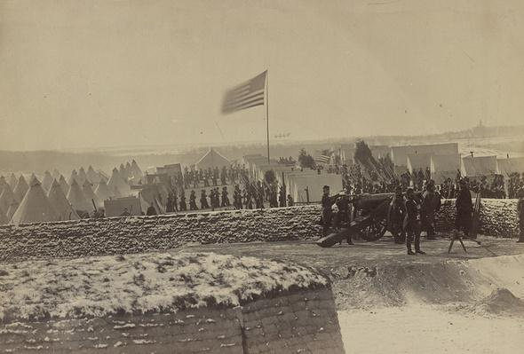 1st Connecticut At Fort Richardson, 1861 | Ken Burns: The Civil War