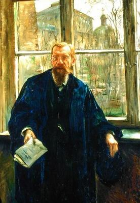 Portrait of Dr Edward Meyer, 1911