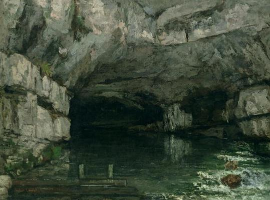 The Grotto of the Loue, 1864