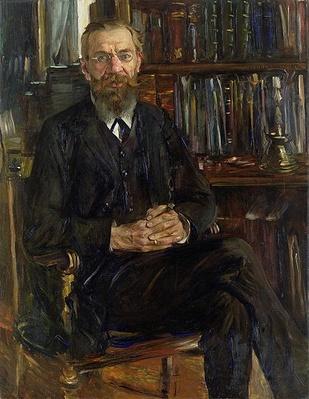 Portrait of Dr Edward Meyer