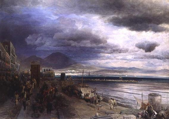 The Coast of Naples, 1877