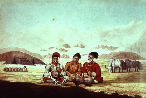 Three Musicians in Tibet