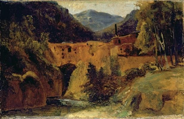 Mill in the valley near Amalfi, 1829