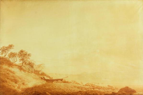 Looking towards Arkona at sunrise, 1801