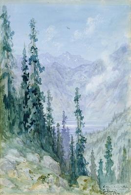 Mountainous landscape, 1876