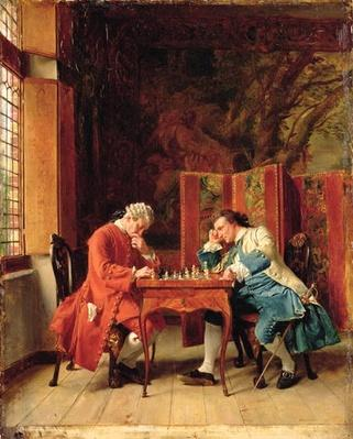 The Chess Players, 1856