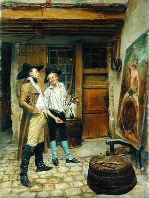 The Sign Painter, 1872