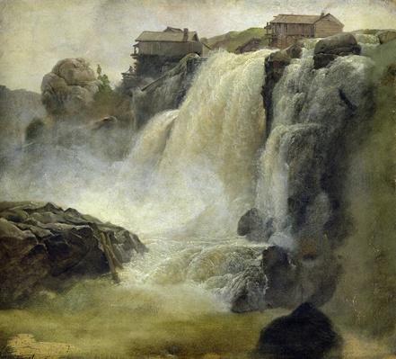 Haugfoss in Norway, 1827