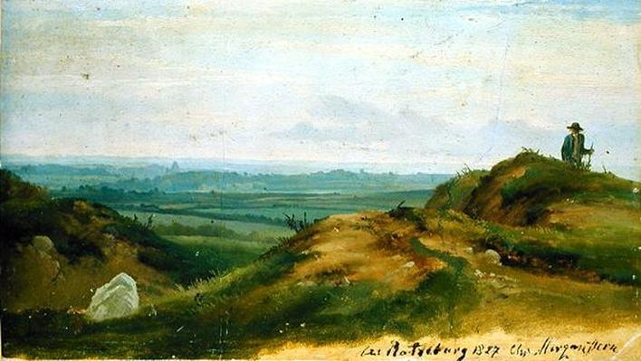 At Ratzeburg, 1827