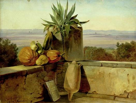 Roman Balcony, 1834