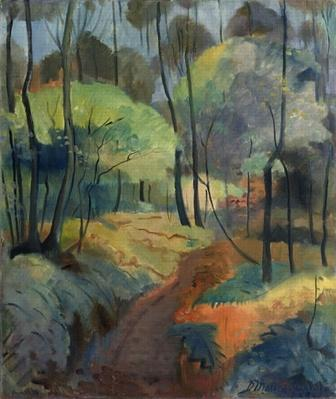 Forest Path, 1920