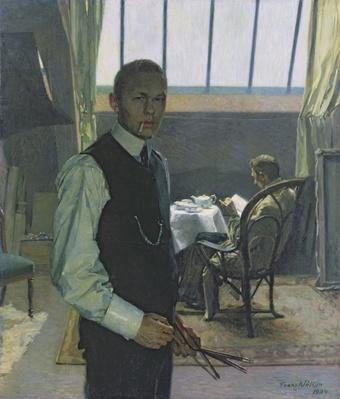 Self Portrait in the Studio, 1904