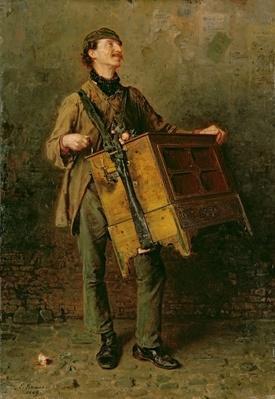 The Hurdy-Gurdy Man, 1869