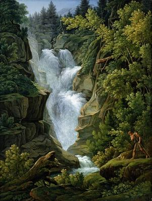 Waterfall in the Bern Highlands, 1796