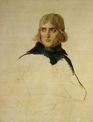 Unfinished portrait of General Bonaparte
