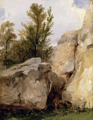 In the Forest of Fontainebleau, c.1825