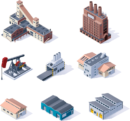Scarcity | Isometric Industrial Buildings