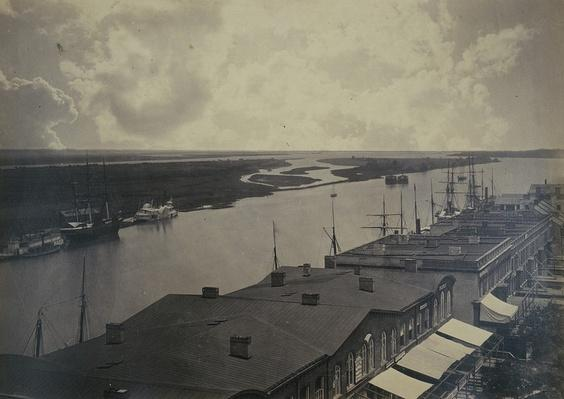 Savannah Waterfront, ca. 1865 | Ken Burns: The Civil War