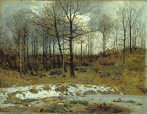 Last Snow at Weimar, 1889