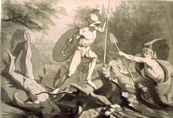 Fight of Achilles with the River Scamander