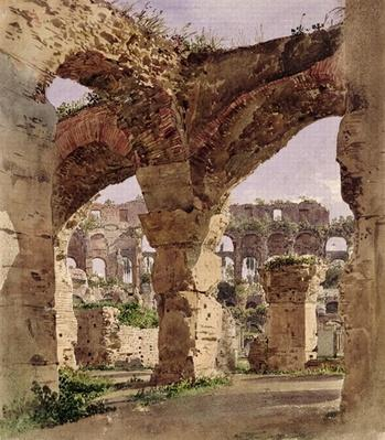 The Colosseum, Rome, 1835