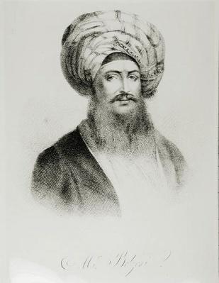 Portrait of Giovanni Battista Belzoni