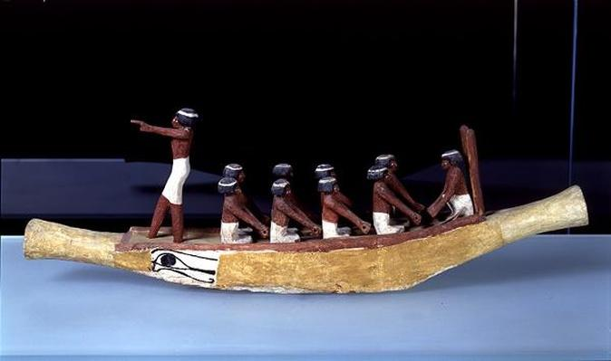 Model of a Boat, c.2000-1900 BC