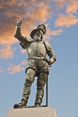 Ponce de Leon statue | Famous Explorers