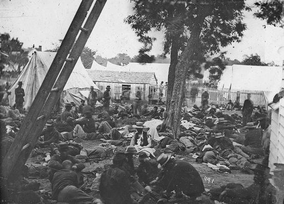 Savage's Station Field Hospital, 1862 | Ken Burns: The Civil War