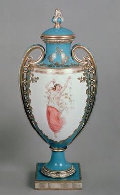 Minton vase, 1862