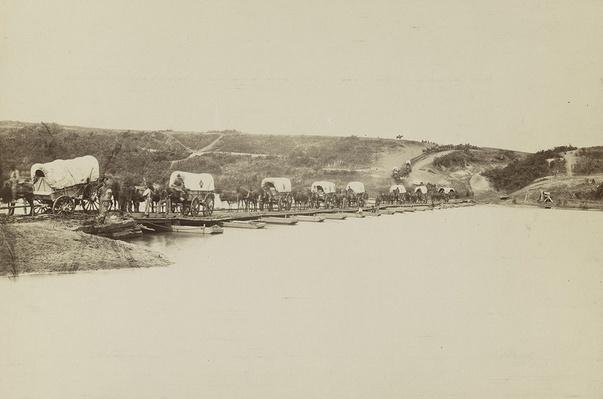 Wagons Over Rappahannock, 1864 | Ken Burns: The Civil War