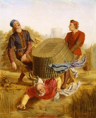 Buck Washing on Datchet Mead from 'The Merry Wives of Windsor'