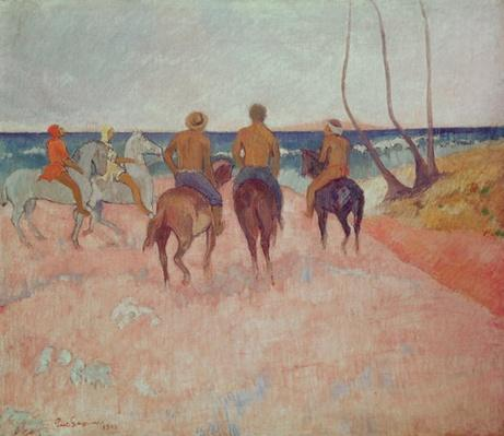 Horseman on the Beach