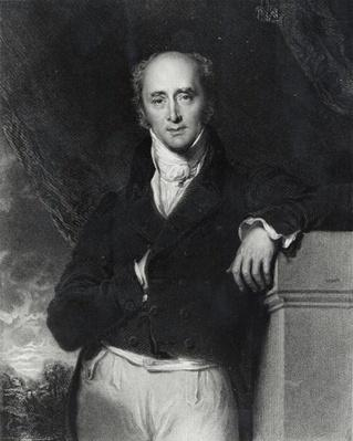 Portrait of the Right Honourable Charles Grey, Earl Grey