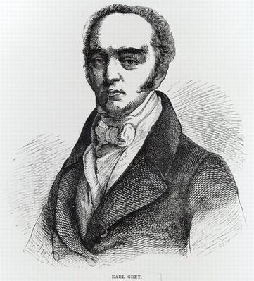 Portrait of Earl Grey