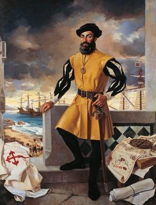 Portrait of Ferdinand Magellan | Famous Explorers