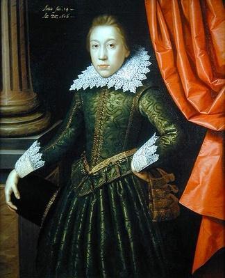 Portrait of a boy of the de Ligne family, 1616