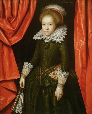 Portrait of a girl of the de Ligne family, 1616