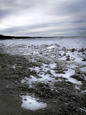 Frozen Beach With Blue Sky, Lake Ontario | Earth's Surface