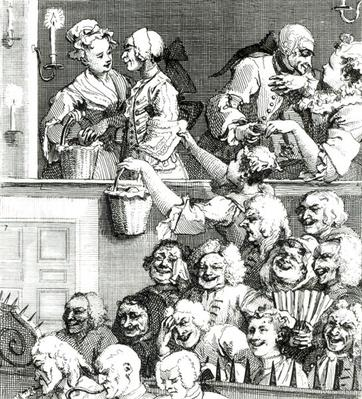 The Laughing Audience, 1733