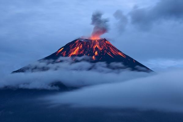 Tungurahua Eruption at Dusk | Earth's Surface